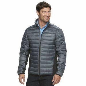 Columbia Sz XL Elm Ridge Hybrid Puffer Jacket Grey